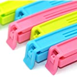 Perfect Pricee Plastic Food, Snack Bag Pouch Clip Sealer for Keeping Fresh for Home Kitchen Camping(Multicolour) Set of 18