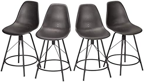 Haobo Metal Bar Stool