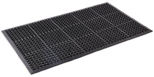 Kempf Anti- Fatigue Drainage Rubber Mat 3' X 5' (Mats Restaurant Floor)