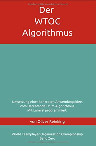 Der WTOC-Algorithmus: 9783746757766: Amazon com: Books