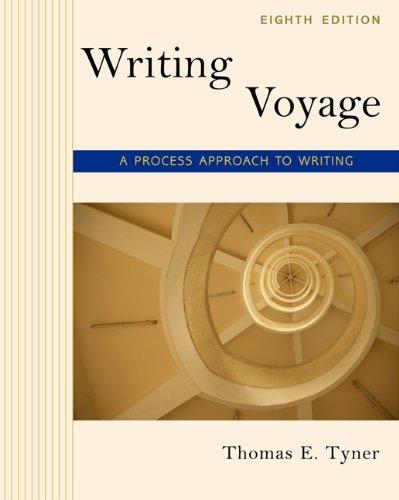 Writing Voyage: A Process Approach to Writing Pdf