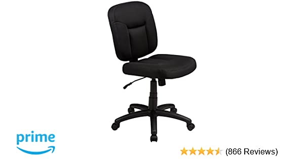 amazon com amazonbasics low back task chair kitchen dining