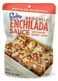 Red Chile Enchilada Sauce 8 Ounces (Case of 6) by Frontera Foods by Frontera Foods