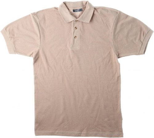 Hanes Short Sleeve Top Polo Sky L L,Sky Blue