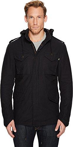 Field Coat Jacket (Alpha Industries Men's M 65 Defender Field Coat, Black, Small)