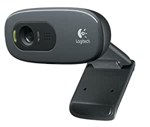 Logitech C270 - Webcam USB, negro
