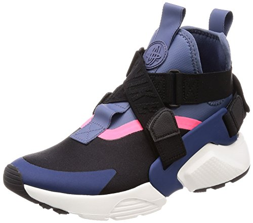 Nike Women's Air Huarache City Navy AH6787-002 (Size: 8)