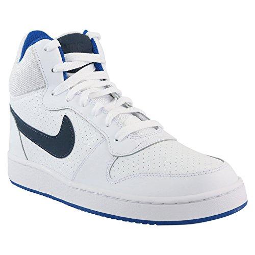 Nike Court Borough Mid, Sneaker a Collo Alto Uomo Weiß (White/Thunder Blue/Blue Jey)