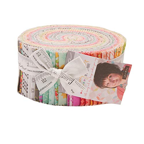 Sunnyside Up Jelly Roll 40 2.5-inch Strips by Corey Yoder for Moda Fabrics 29050JR