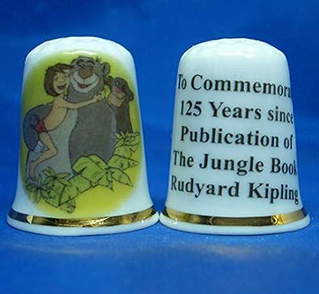 Sesame Street 50th Anniversary Commemorative Porcelain China Thimble Free Box
