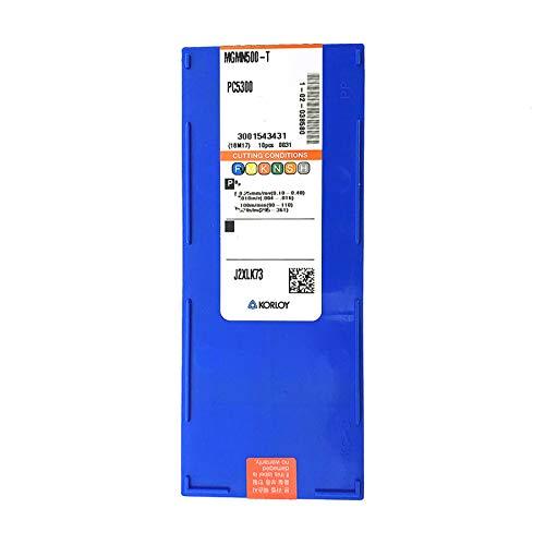 Carus Tool KORLOY MGMN500-T PC5300 Carbide Inserts CNC Tool 10Pcs//Box