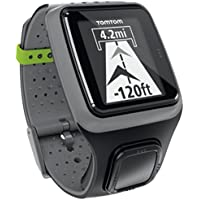 TomTom 1RS0.001.01 Multi-Sport GPS Watch (Grey) with Heart Rate Monitor Strap
