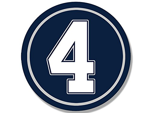 round-number-4-dak-prescott-sticker-4-decal-dallas-cowboys-qb