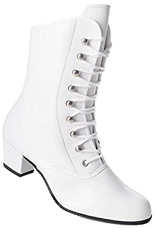 KOCHMANN CAN CAN Leder Tanzschuhe Stiefel Garde Gardestiefel