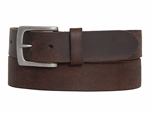 B75459 Timberland Men's 35MM Oil Tan Leather Belt (34, Brown)
