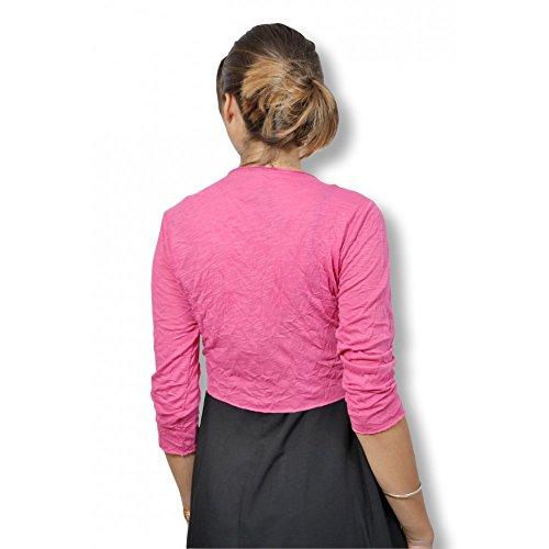 MIELO MODA - Cárdigan - para mujer Rose