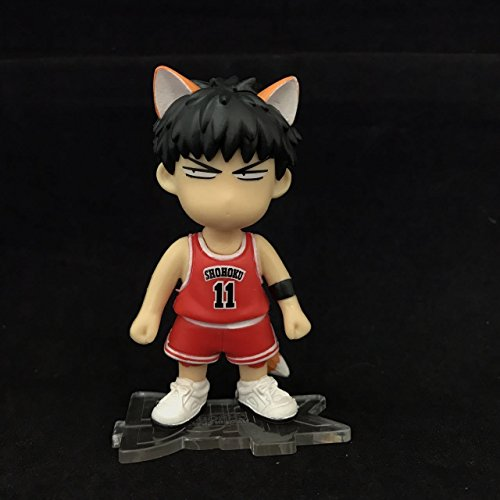 TONGROU Fox Ears Tail Rukawa Kaede Cute Mini PVC Figure Statue New In Box (X Men Rogue Jacket)
