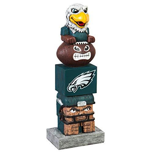 - Team Sports America NFL Philadelphia Eagles 12 Inch Tiki Totem