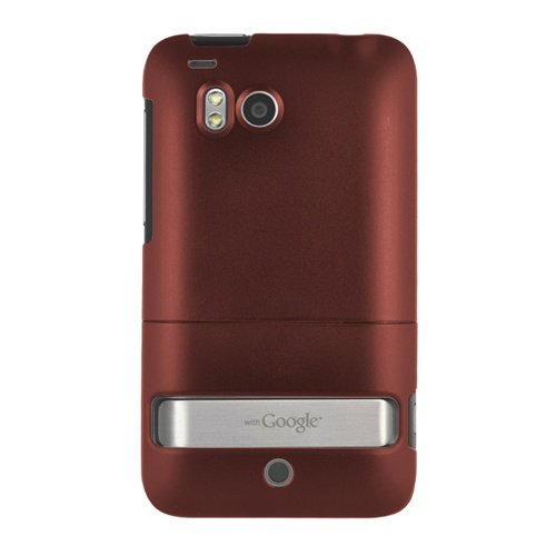 Seidio Innocase Surface Case - Seidio Innocase II Surface Case for HTC ThunderBolt (Burgundy)