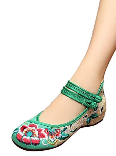 bottle green dress shoes - 7