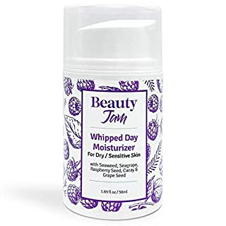 Beauty Jam Whipped Day Moisturizer for Dry Sensitive Skin, 1.7 Ounce