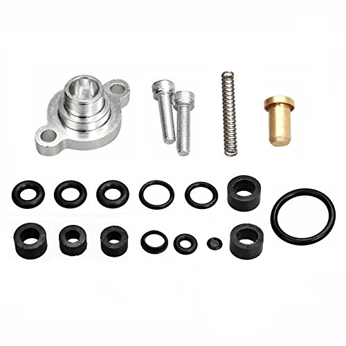yjracing Fuel Relief Pressure Spring & Seal Kit Fit for 99-03 Ford 7.3 7.3L Powerstroke Diesel ()