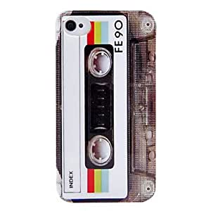 MOM Fashion Tape Design PC Hard Case for iPhone 4/4S