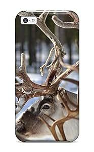Hot O39RL4PVTT9HUV7E MarvinDGarcia Perfect Tpu Case For Iphone 5c/ Anti-scratch Protector Case (reindeer)