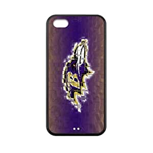 Custom Baltimore Ravens Back Cover Case for iphone 5C JN5C-460