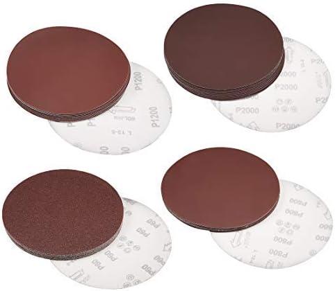 - 8-Inch Hook und Loop Sanding Discs, 400 Grain Aluminum Oxide Abrasive Sandpaper, 10 Pieces