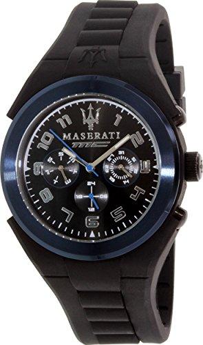 Maserati Men's R8851115007 Analog Display Quartz Black Watch