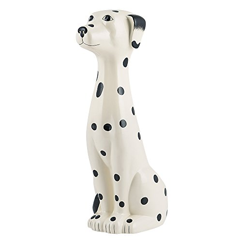 Allure Home Creations Ceramic Dalmatian Bowl Toilet Brush Holder Set-Brush Included -2pcs Set by Allure Home Creations