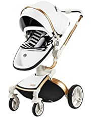 Luxury Baby Shock Absorber high Landscape cart, Portable Folding Stroller, Travel System Stroller