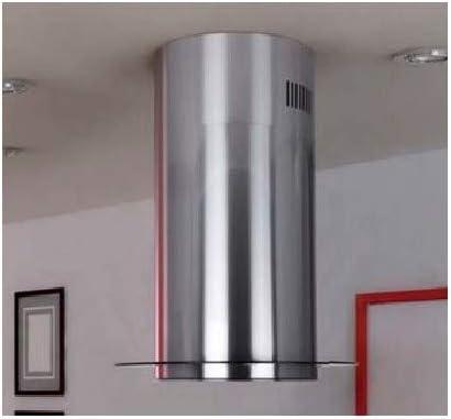 Campana extractora islote Baltic GLASS de acero inoxidable, 60 cm: Amazon.es: Hogar