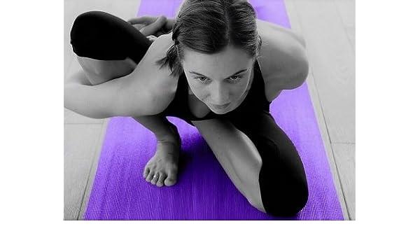 TappetoSuMisura-tappeto Yoga Studio Morado: Amazon.es: Hogar