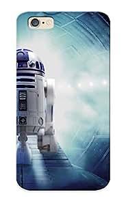 Bihkba-6005-guxptis New Premium Flip Case Cover Star Wars R2d2 Skin Case For Iphone 6 As Christmas's Gift