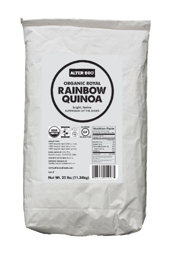 Alter Eco - Organic Royal Rainbow Quinoa - 25 lb by Alter Eco