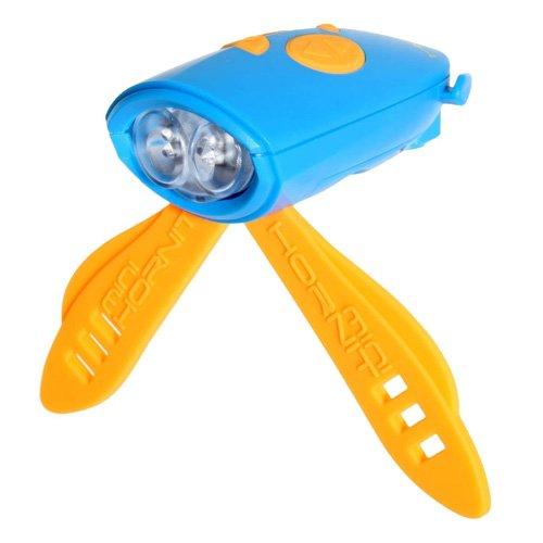 Mini Hornit Bicycle Light - Blue/Orange