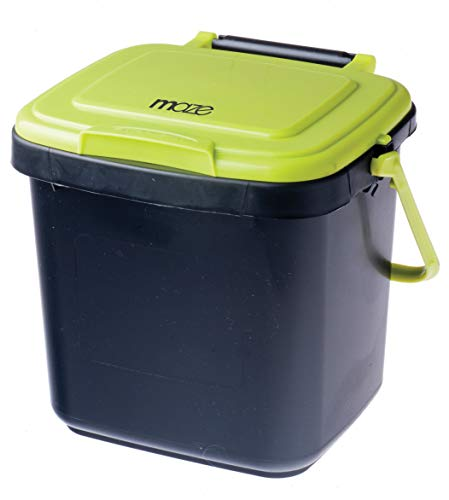 RSI MC-C7 Compost Bin, Black and Green