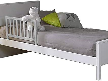 Barri/ère de lit enfant 70 Ava Gris clair