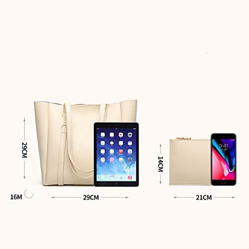 sac sac à carré bandoulière couleur à solide grand main Lxf20 Pink Femme sac PU sac ZU4wxO5q