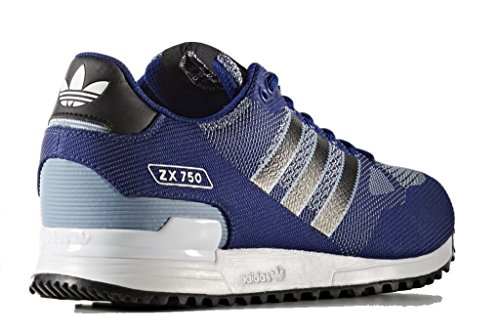 Hommes Baskets Size Wv 46 Originals Zx By9276 Adidas 750 Bleu SxZ7InS