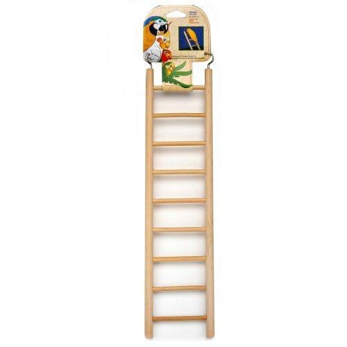 Penn Plax 9-Step Wooden Bird Ladder by Penn Plax, INC. [Pet Supplies]