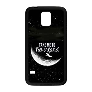 Samsung Galaxy S5 Cell Phone Case Black Peter Pan GMO Personalized Clear Phone Cases