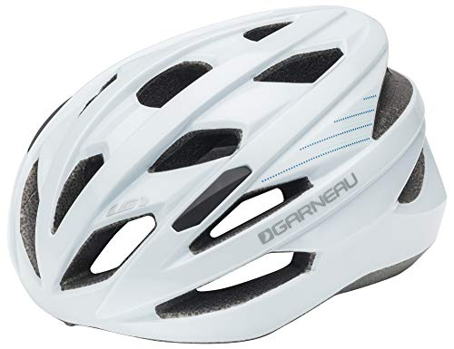 Louis Garneau Women's Amber Lightweight, Adjustable, CPSC Safety Certified Bike Helmet, White ()