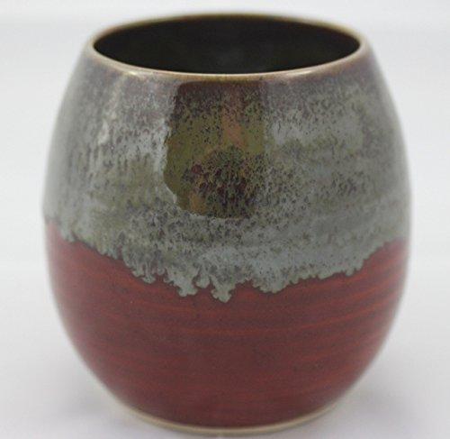 Ceramic Gourd Yerba Funky Bombilla