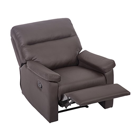 Mr Direct Recliner Sofa Chair Home Lounge with Padded Seat Backrest - Mr Lounge Chair
