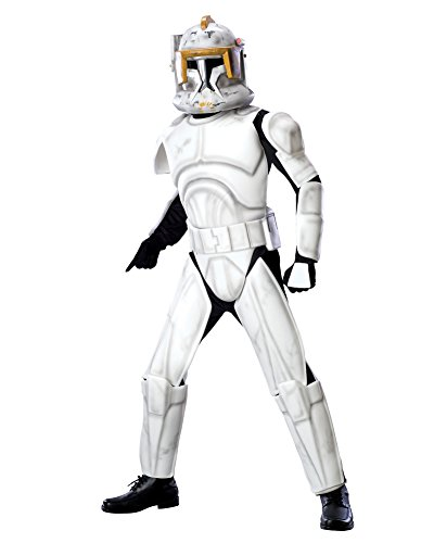 CloneTrooper Cody Costume Star Wars Theatre Costumes SciFi Fantasy Mens Costume Sizes: One (Sci Fi Costumes Ideas)