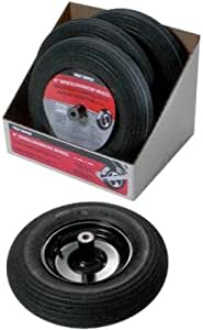 Wheel/Tire Assembly with Hubsmbly in Black Garden, Lawn, Supply, Maintenance