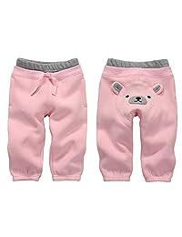 Vine Baby Pants Kids Fleece Jogging Trousers Tracksuit Bottom Training Sweatpants